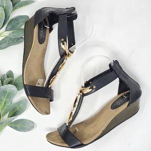 BUCCO Dolan Ankle Strap Sandals 8.5